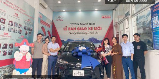 Lời cám ơn Quý khách hàng đã và đang đồng hành cùng Toyota Cẩm Phả thời gian vừa qua