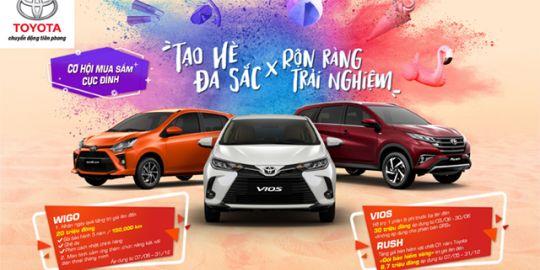 Toyota Cẩm Phả triển khai chương trình ưu đãi lên đến 30 triệu đồng cho Vios và 20 triệu đồng cho Wigo
